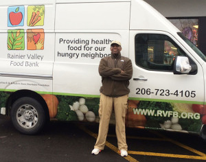 Dennis Cook and Rainer Valley Food Bank